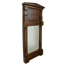 19th Century Mirror w/ Pediment c1850