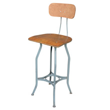 Stationary Toledo Factory Stool c1935