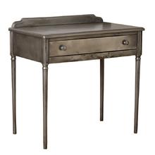 Petite Raw Steel Simmons Desk c1928