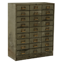 33-Drawer Industrial Parts Cabinet C1935