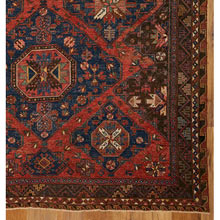 Vintage Flat Woven Sumak Rug c1890