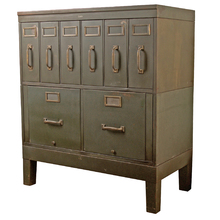 Steel Filing Cabinet by Globe c1925