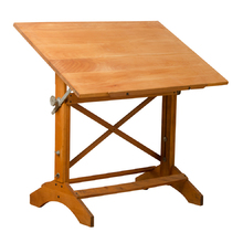 Small Maple Hamilton Drafting Table c1940s