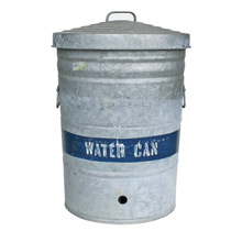 Vintage Galvanized Water Can C1940