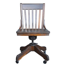 Milwaukee Company Oak Office Chair C1920s