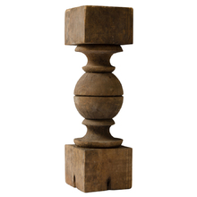 Turned Pine Spindle c1920