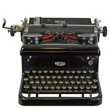 Royal Typewriter w/ Glossy Finish c1940s
