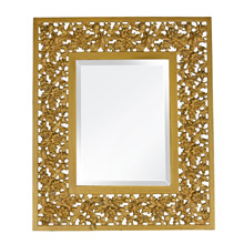Cast Brass Mirror by Bradley and Hubbard c1890