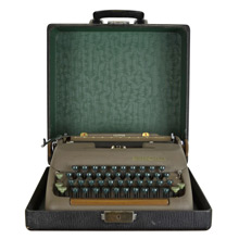 Vintage Portable Typewriter by Smith Corona c1937