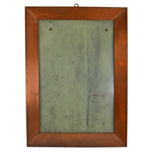 Magnificent Copper Theater Poster Display Case c1940