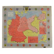 Mid-Century Denoyer-Geppert Map Book of Germany c1950s