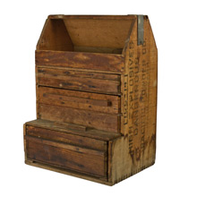 Rustic Explosives Crate Tool Box c1915