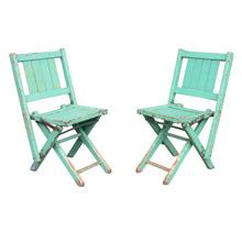 Pair of Children's Folding Chairs c1935