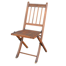 Vintage Meeting Hall Folding Chair c1930s