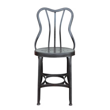 Raw Steel Toledo Cafe Chair c1930