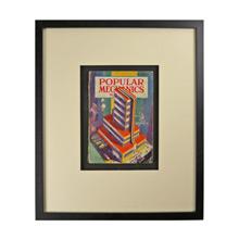 Framed Popular Mechanics Magazine I c1933