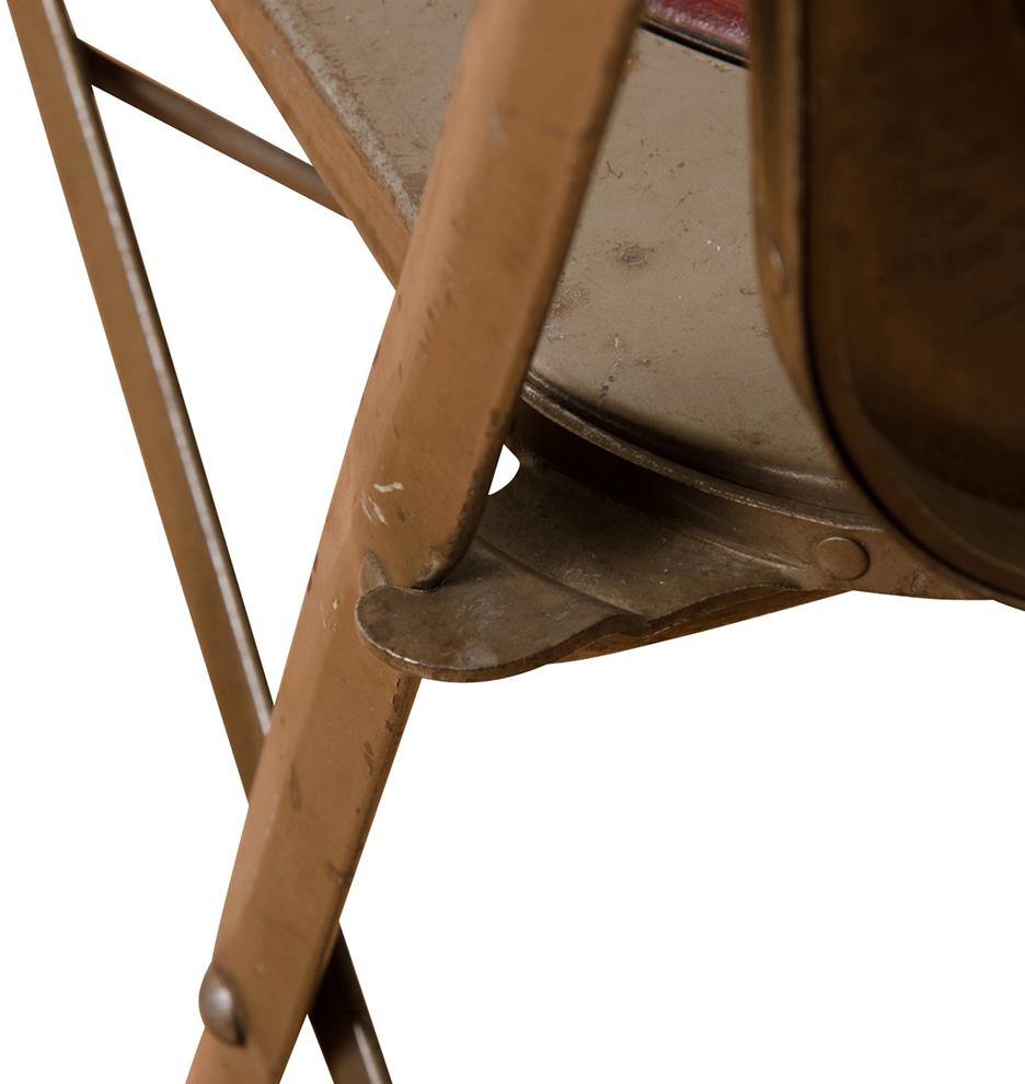 Steel Folding Chair w Maroon Vinyl Cushions Rejuvenation : G0550GG0550 from www.rejuvenation.com size 936 x 990 jpeg 316kB