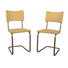 Pair of Steel Kitchen Dinette Chairs c1948