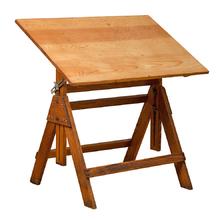 Petite Hamilton Drafting Table c1935