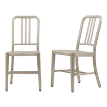 Pair of GoodForm Aluminum Side Chairs c1940s