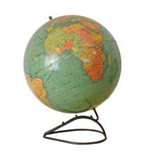 Mid-Century Standard 12 Inch Globe by Replogle C1955