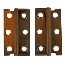 Pair of Copper Plated Trunk Hinges c1940