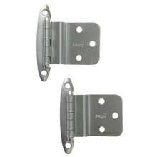 Pair of Satin-Finished Chrome Hinges by Washington c1940