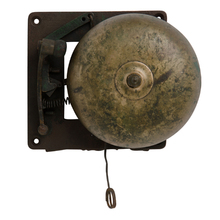 Iron and Brass School Bell c1930s