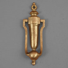 Little Brass Door Knocker, c.1910