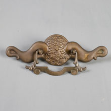 Unusual Pair of Victorian Drawer Pulls, c1890s