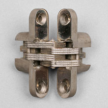 "Soss ""Invisible Hinges"", patent 1935"