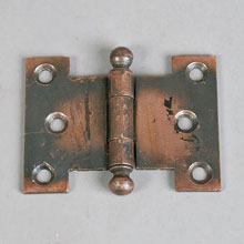 Parliament-Type Cabinet or Cupboard Hinges, c1910