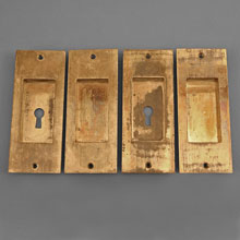 Craftsman Pocket Door Set, c.1900