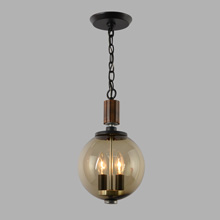338-CD Brentwood Pendant by Lightcraft of CA, c1969