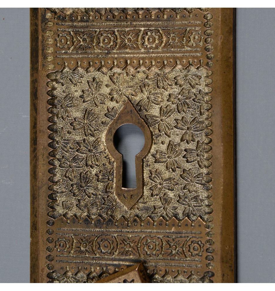 Branford Quot Ivy Quot Cast Bronze Aesthetic Door Set C1885