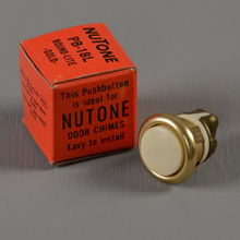 NuTone NOS PB-18L Lighted Doorbell Button, c1965