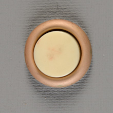 NuTone NOS Plain PB-18 Doorbell Button, c1970