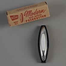 NuTone NOS Modern PB-3 Doorbell Button, c1952