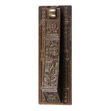 Anglo-Japanese/Aesthetic Movement Knocker & Letter Slot, c1880