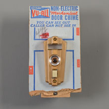 Snapit Vu-All NOS Non-Elelctric Chime & Viewer, c1960