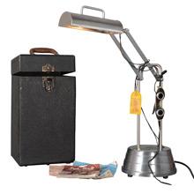 Complete Sun-Kraft UV Lamp Set w/Case & Goggles, c1945