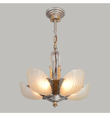 Slip Shade Chandelier