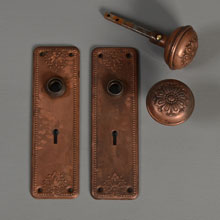 "Sargent Wrought Door Set in ""RD"" Design, c1905"
