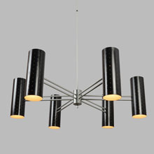 Magnificent Mid-Century Stargazer Chandelier by Lightolier, c1955