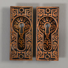 Pair of Kean & Doty Pocker Door Flush Pulls, c1885