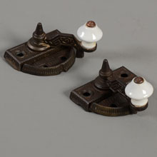 Pair of Sargent & Co Sparks Patent Sash Locks, c1872