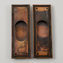 Pair of Reading Hardware Company Pocket Pulls C1892