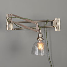 Very Rare Self-Adjusting Medical Wall Bracket, c1920