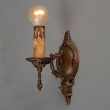 Delicate Colonial Revival Candle Sconce, c1925