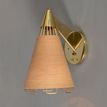 "Cordette Sconce, from Moe Lighting's 1958 ""Cordette Series"""
